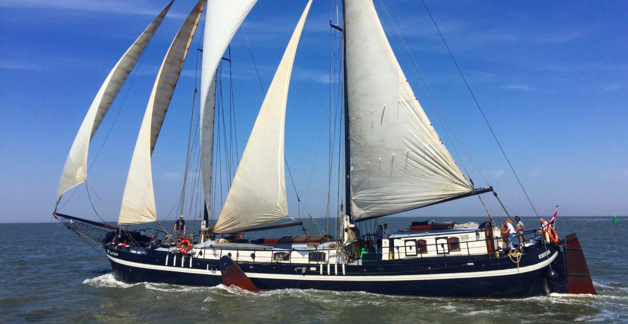 Zeilschip Antonia. Hollandse Wateren